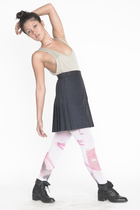American Apparel shirt - American Apparel skirt - American Apparel tights