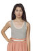 beige American Apparel top - pink American Apparel skirt