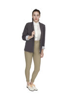 silver American Apparel blazer