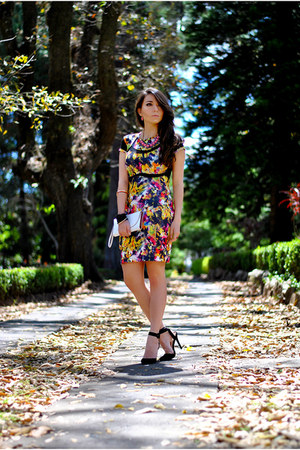 printed Siman dress - Siman accessories