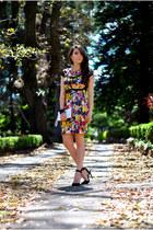 printed Siman dress - Siman accessories