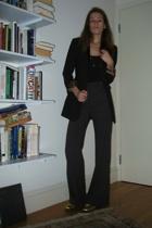 intimate - blazer - prive pants - shoes