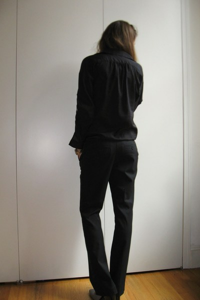 Zara blouse - Old Navy pants - Zara shoes