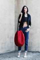 acne jeans - frontrowshopcom necklace