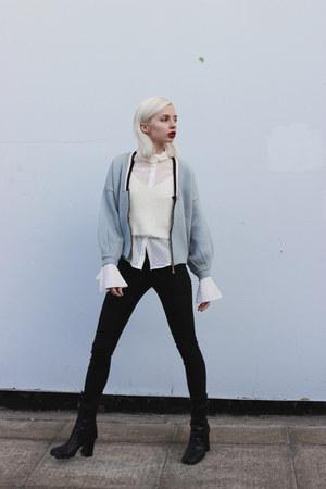 Miu Miu boots - StyleWe jacket