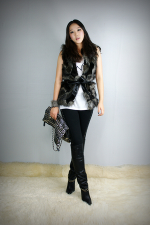 style2bb3 vest - style2bb3 shoes - style2bb3 purse