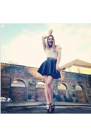 Bershka skirt - H&M heels