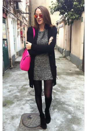 black zaracom Zara dress