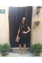 grey dress Zara dress