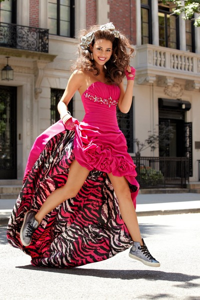 Charcoal Gray Sneakers Hot Pink Dresses Ups By Marymarie