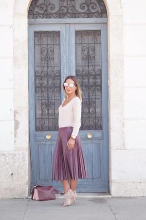 Zara bag - BLANCO skirt