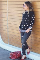 Zara jeans - Primark sweater - Zara heels