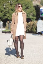 Mas34shop shoes - Zara dress - Stradivarius jacket - suiteblanco bag