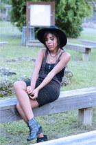 xhilaration top - ecote boots - material girl dress