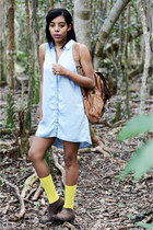 H&M dress - Matisse boots - Target socks