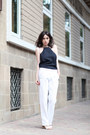 Navy-let-them-stare-top-white-let-them-stare-pants