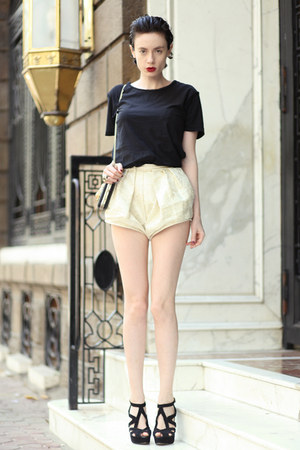 Zara shirt - wwwletthemstarecom shorts - Zara sandals