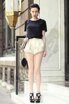 Zara shirt - wwwletthemstarecom shorts - Zara sandals