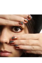 DIY: Butterfly Wing Nail Art