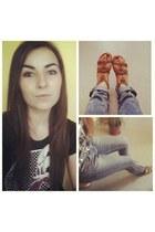 kenvelo shirt - Calliope jeans - H&M sandals