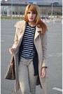 Camel-otto-hermann-coat-dark-khaki-calvin-klein-pants-navy-cos-t-shirt