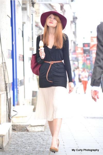 ivory Forever 21 skirt