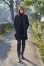 Black-warehouse-coat-navy-asos-skirt