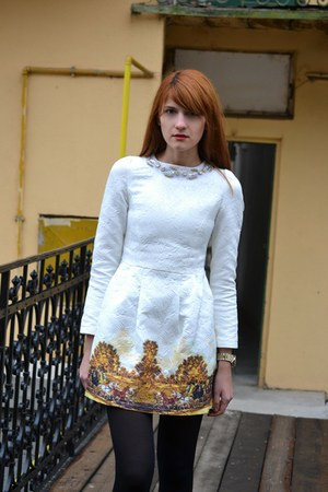 white PERSUNMALL dress