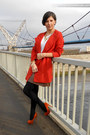 Carrot-orange-zara-coat-white-stradivarius-blouse-tawny-stradivarius-heels