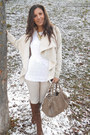 Dark-brown-stradivarius-boots-tan-bershka-coat-brown-pieces-bag