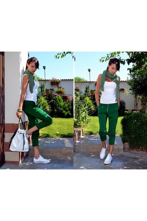 green Green pants
