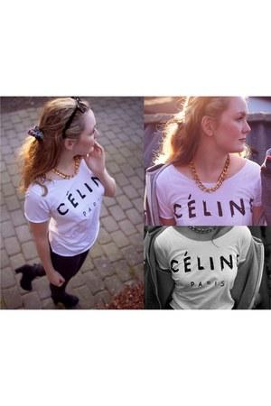 celine Etsy t-shirt