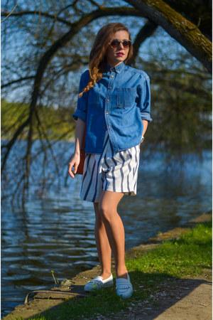 ivory Zara shorts