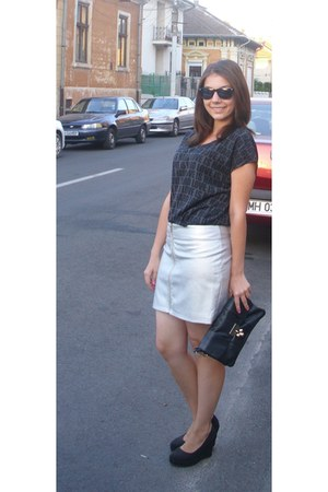 New Yorker skirt - H&M blouse
