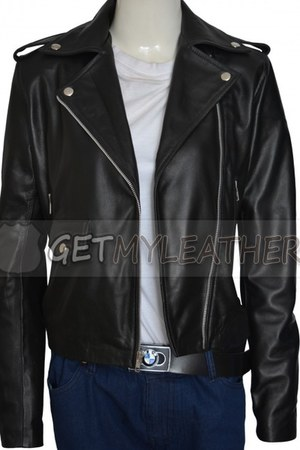 orange Getmyleather jacket - Getmyleather jacket