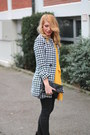 Black-studded-h-m-boots-houndstooth-rosewholesale-coat-black-h-m-purse