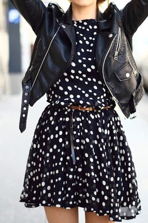jacket - dress - dress