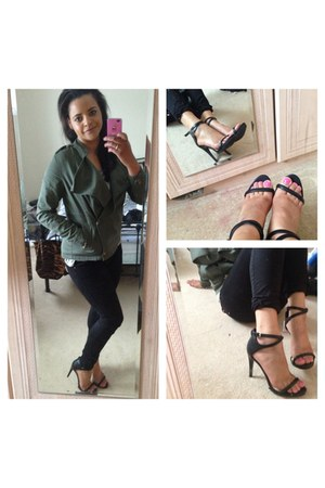 new look blazer - Zara shoes - Zara jeans