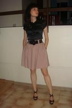 H&M skirt - Amizu blouse