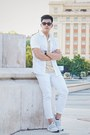 White-stretch-skinny-topman-jeans-white-topman-shirt