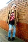 Black-ebay-shoes-light-brown-new-look-coat-light-blue-new-look-jeans