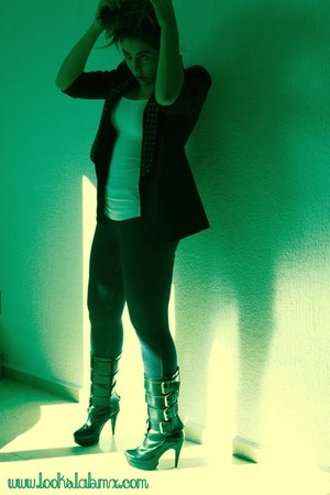 AMERICAN lIFE boots - Forever 21 jacket - Mango jeans