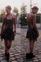 Minnetonka boots - mogul dress