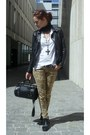 Black-cropped-mtivi-boots-black-studded-leather-rebel-by-rino-pelle-jacket