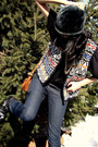 Black-jc-penny-shirt-white-my-moms-vest-black-vintage-hat-gold-forever21-n