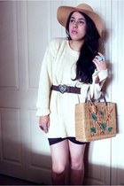 Esprit bag - ivory sweater