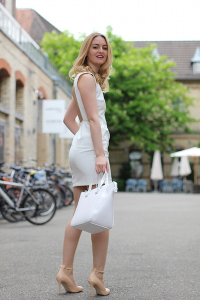 Zara dress - Zara bag - Zara heels