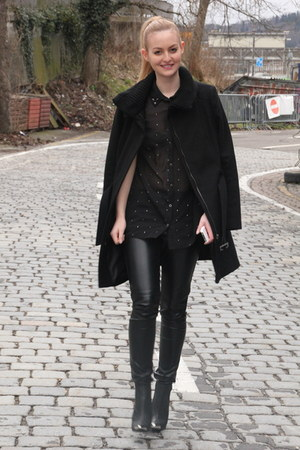 H&M shoes - Mango coat - Primark top - H&M pants