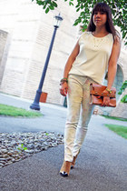 Topshop boots - floral Zara jeans - studded Zara t-shirt
