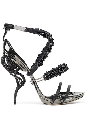 black Gianluca Tamburini heels